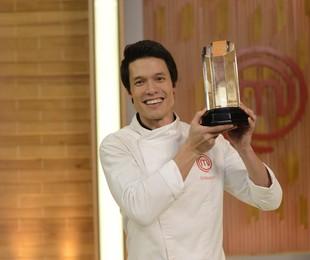 Leonardo Young venceu a terceira temporada do MasterChef | Divulgação