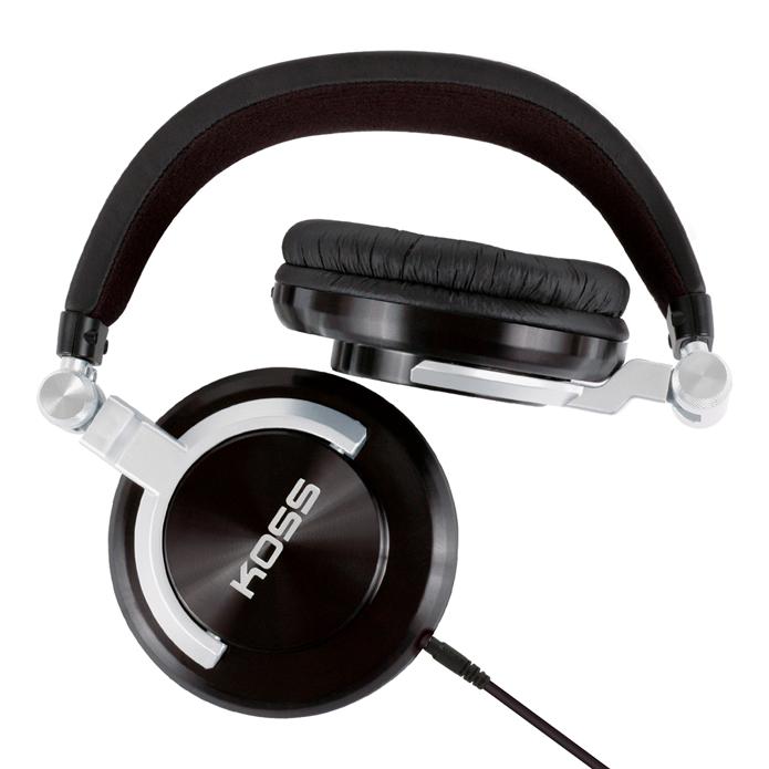 Alguns headphones supra podem dobrar, eliminando problemas de transporte (Foto: Divulgação/Koss)
