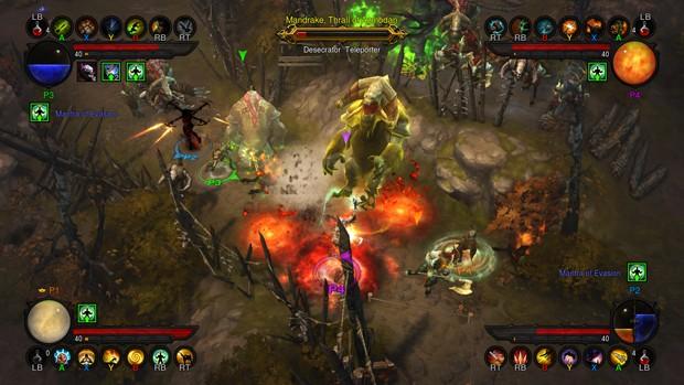 Xbox 360 Strategy Games : G testou nos consoles diablo iii tem multiplayer