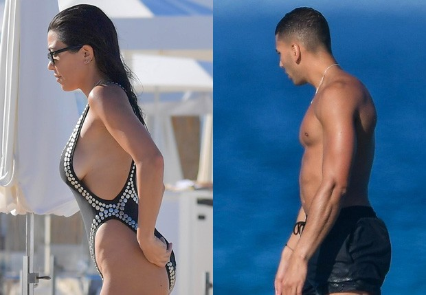 Kourtney Kardashian e Younes Bendjima (Foto: AKM-GSI)