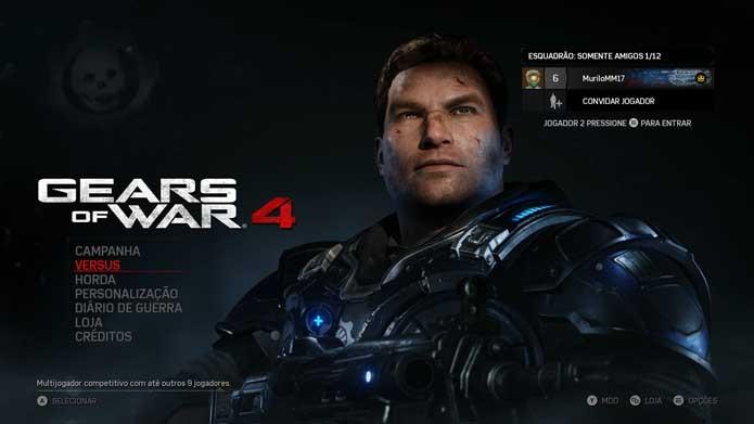 Gears of War 4: como jogar os modos competitivos do game (Foto: Reprodução/Murilo Molina)
