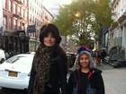 Franciely Freduzeski curte Nova York lado do filho, Lucas