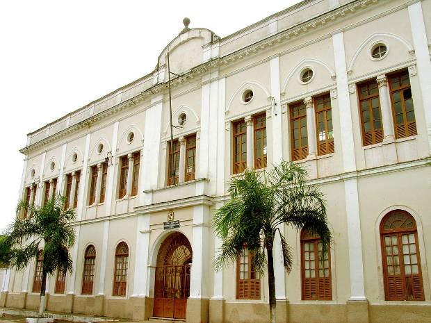 Fachada do prédio da reitoria da Universidade do Estado do Pará (Uepa) em Belém (Foto: Márcio Ferreira/UEPA)