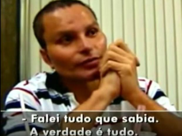 Juan Carlos Ramirez Abadia deu entrevista ao Fantástico para denunciar o achaque de policiais (Foto: Reprodução/TV Globo)