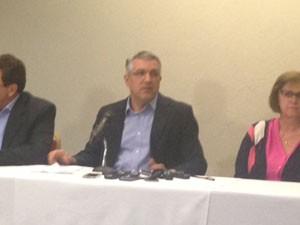 Ex-ministro Alexandre Padilha nega envolvimento com doleiro (Foto: Lívia Machado/G1)