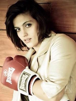 Poliana Botelho Muriaé MMA (Foto: Poliana Botelho/Arquivo Pessoal)