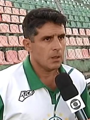 Wallace Lemos, treinador Mamoré Patos de Minas (Foto: Reprodução/TV Integração)