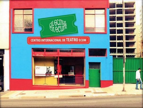 Nova fachada do Centro Internacional de Teatro Ecum (CIT-Ecum) (Foto: Divulgação)