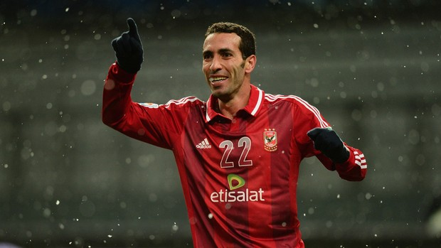 Mohamed Aboutrika gol Al Ahly (Foto: Getty Images)
