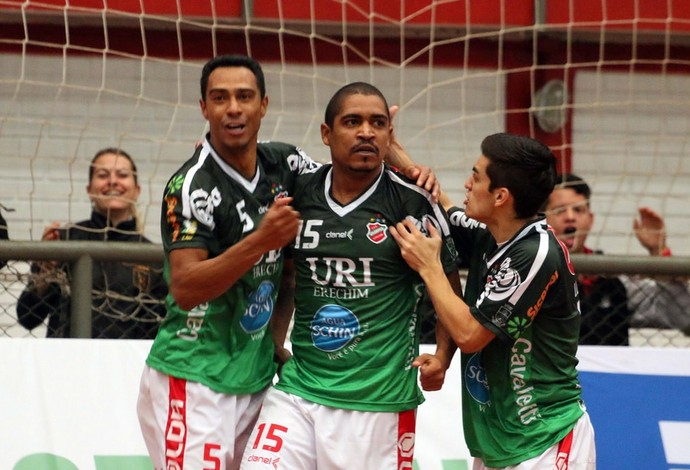 Atlântico Erechim Assoeva Liga Nacional de Futsal (Foto: Edson Castro/Prime Com)