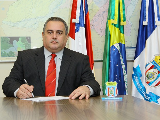 Raimundo Acioly é o delegado geral indicado por José Melo (Foto: Polícia Civil/ Divulgação)