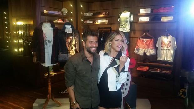 Bruno Gagliasso e Giovanna Ewbank (Foto: EGO)