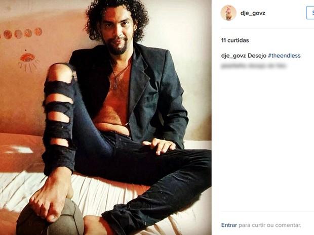 Diego foi encontrado morto em um matagal perto do alojamento dos estudantes (Foto: Reprodução/ Instagram)