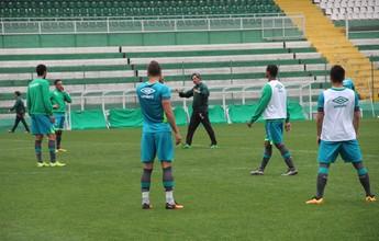 Chape elogia o Santos e conta com torcida e forte marcação para vencer
