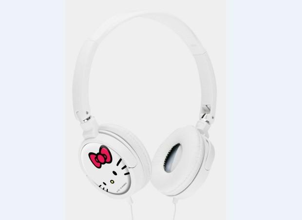 Fones de Ouvido Hello Kitty White, Sanrio, R$ 69,90 (Foto: Divulgação)