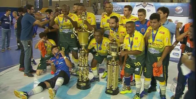 Miguelópolis taça eptv futsal ribeirão preto (Foto: Reprodução/EPTV)