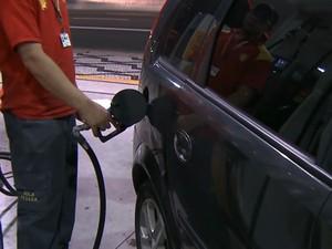 Gasolina Etanol Combustível Abastecimento JG (Foto: Reprodução: TV Globo)