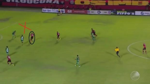 Análise Vitória x Vitória da Conquista, gol de Kieza