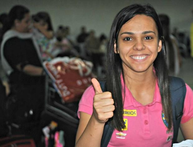 vanessa futsal feminino (Foto: João Gabriel Rodrigues/Globoesporte.com)