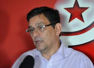 Lúcio Antônio Rodrigues, gerente de futebol do Vila Nova (Foto: Guilherme Gonçalves/Globoesporte.com)