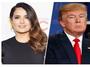 Salma Hayek acusa Donald Trump de assédio e espalhar boatos sobre ela