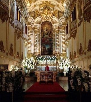 Igreja pronta para casamento de Preta Gil e Rodrigo Godoy (Foto: Instagram / Reprodução)