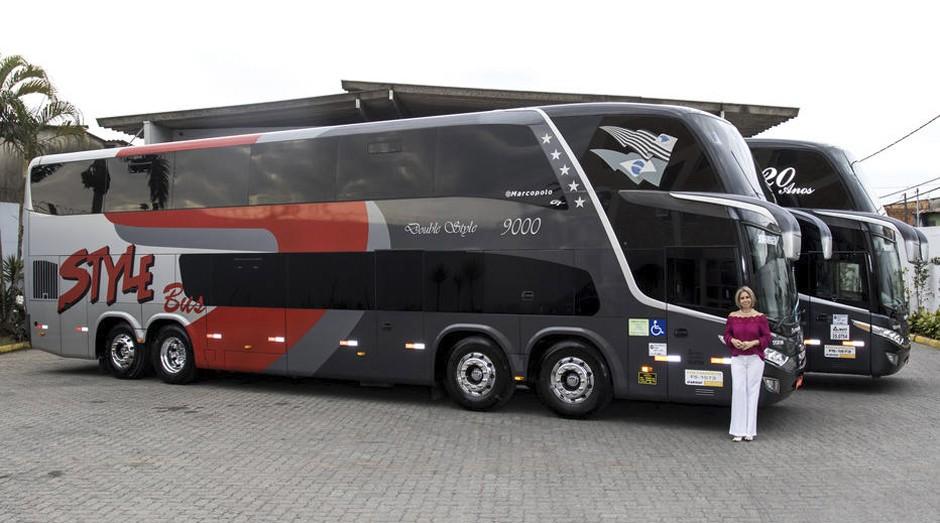 Style Bus, de Vera Dias Ribeiro, tem fila para locação de ônibus mais longo (Foto: Estadão Conteúdo)
