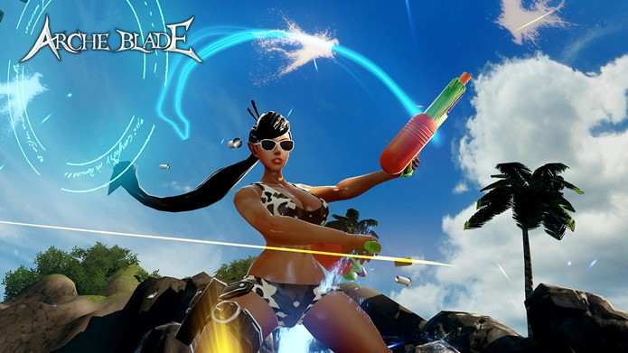 Em ArcheBlade os jogadores terão total liberdade para comprar equipamentos e acessórios que customizarão o visual de seus personagens (Foto: Divulgação/CodeBrush Games)