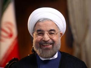 O presidente do Irã, Hassan Rohani, durante entrevista à NBC (Foto: AFP)