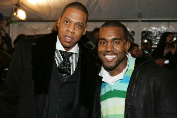 Jay-Z e Kanye West  (Foto: Getty Images)