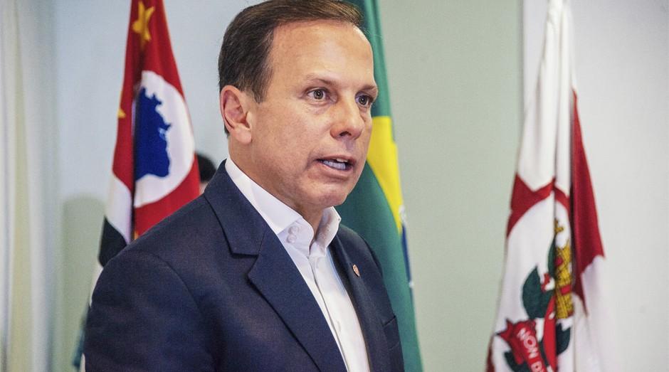 Prefeito de São Paulo, João Dória (Foto: Eduardo Ogata / Secom)