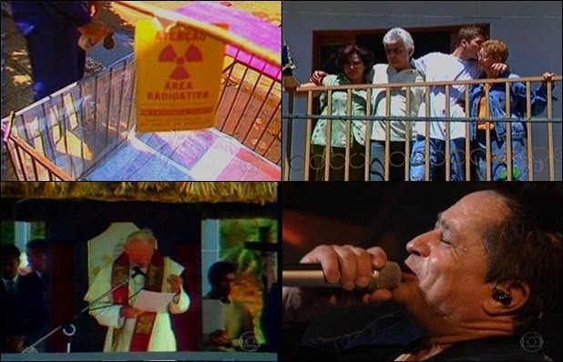 Acidente radioativo, sequestro do menino Pedrinho, visita do papa e sucesso do sertanejo Leonardo fazem parte da história do estado (Foto: Reprodução/TV Anhanguera)