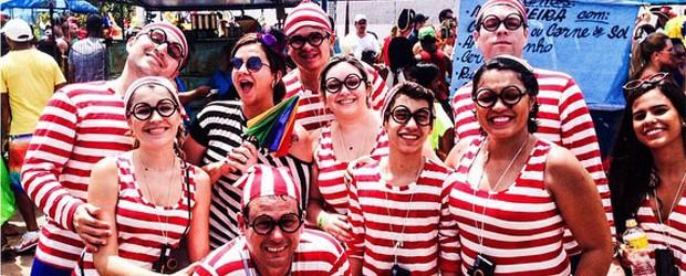 Turistas estreantes destacam calor, animação e multidão no carnaval (Letícia Azevedo/ Acervo pessoal)