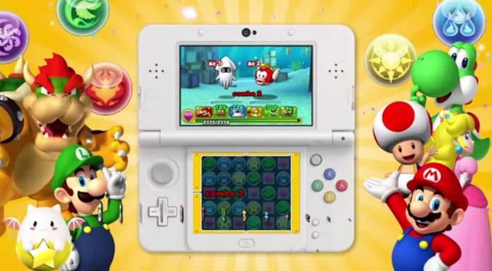 Puzzle & Dragons: Super Mario Bros. Edition será lançado em abril para 3DS (Foto: Reprodução/YouTube)