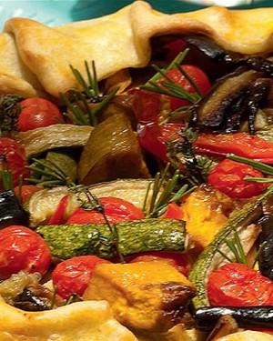 Torta rústica de legumes provençais assados (Foto: Casa e Comida)
