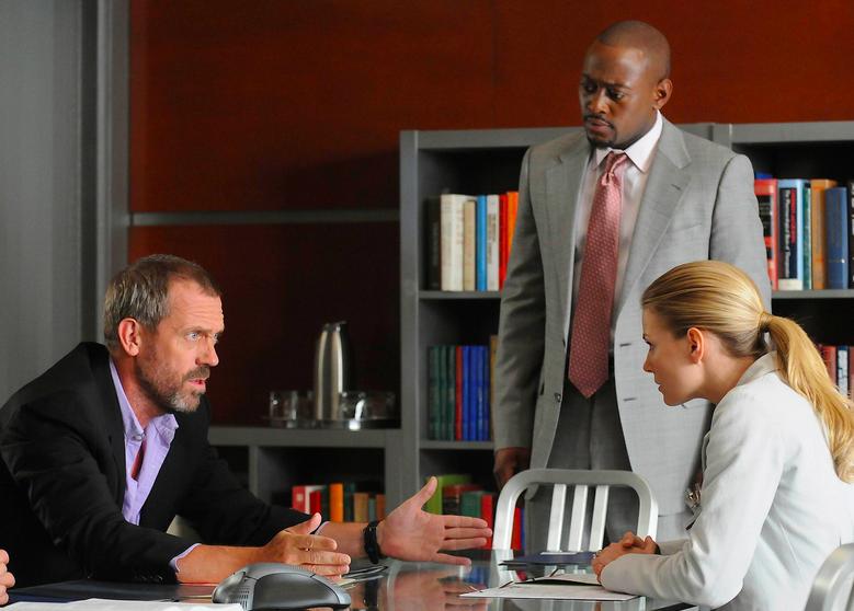 O ator Omar Epps em cena da série House (Foto: Reprodução)