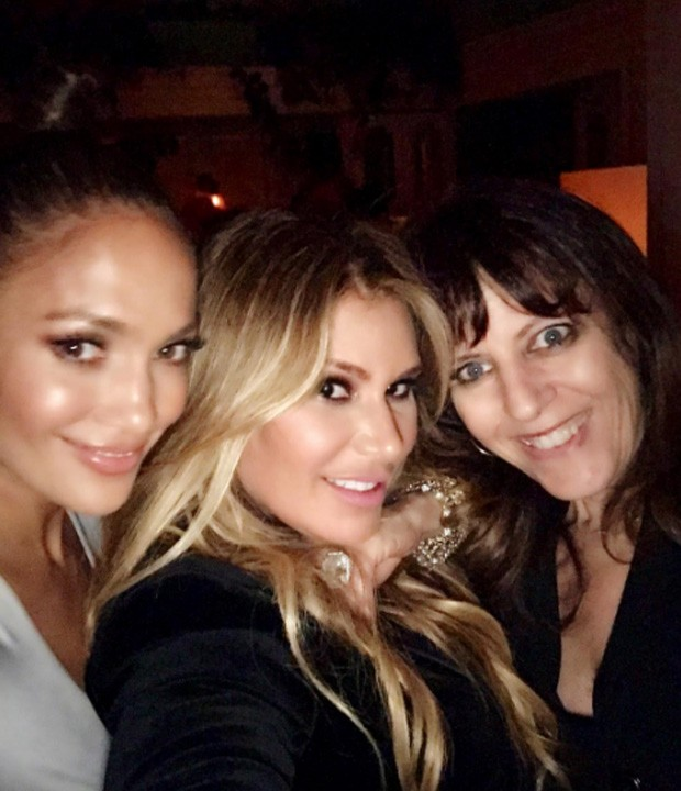 Jennifer Lopez e amigas (Foto: Reprodução/Instagram)
