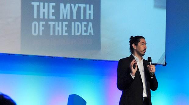 Newton Campos, autor do livro The Myth of the Idea, fala sobre como o empreendedor pode verificar se sua ideia é boa (Foto: Valdir Ribeiro Jr)