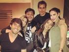 Anitta se despede de Orlando em festa com Kaká e Bella Falconi