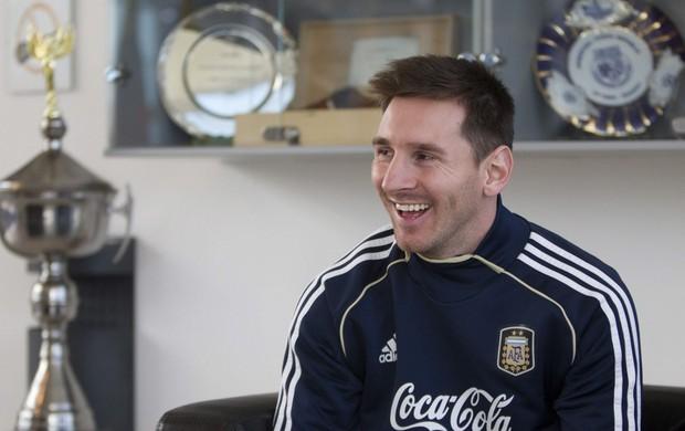 Messi com a seleção argentina (Foto: EFE)