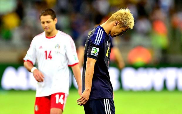 Honda derrota jogo México Japão (Foto: Marcos Ribolli / Globoesporte.com)