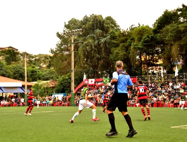 Casa cheia Tornieo Rio x Minas Fut 7 Flamengo x America-MG (Foto: Joaquim Azevedo/Jornal F7)