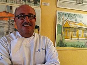 Jeff Colas - chef do Maison Bonfim, em Olinda (Foto: Katherine Coutinho / G1)