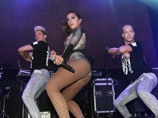 Anitta se apresenta em São Paulo (Foto: Celso Tavares/ EGO)