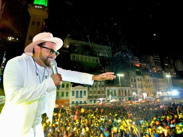 Show de Pablo na Praça Cayru, em Salvador  (Foto: Max Haack/Agecom)