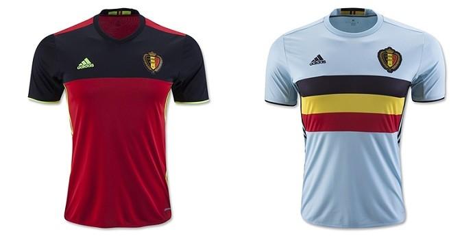 Camisas Eurocopa belgica