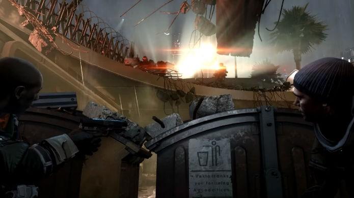 Killzone Shadow Fall: seja sorrateiro e elimine os inimigos do mapa (Foto: Reprodução/Thomas Schulze)