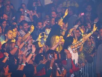 Público se empolga no São João de Minas (Foto: Maurício Vieira)