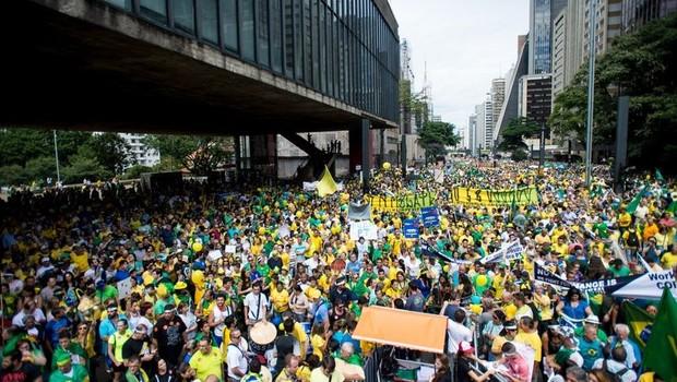Datafolha: número de manifestantes na Avenida Paulista foi de 210 mil
