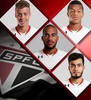 Carrossel Jogadores São Paulo (Foto: Editoria de arte)